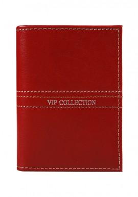 Etui na wizytówki i karty Palermo 15_lin red