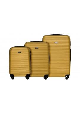 Zestaw walizek Sierra Madre yellow