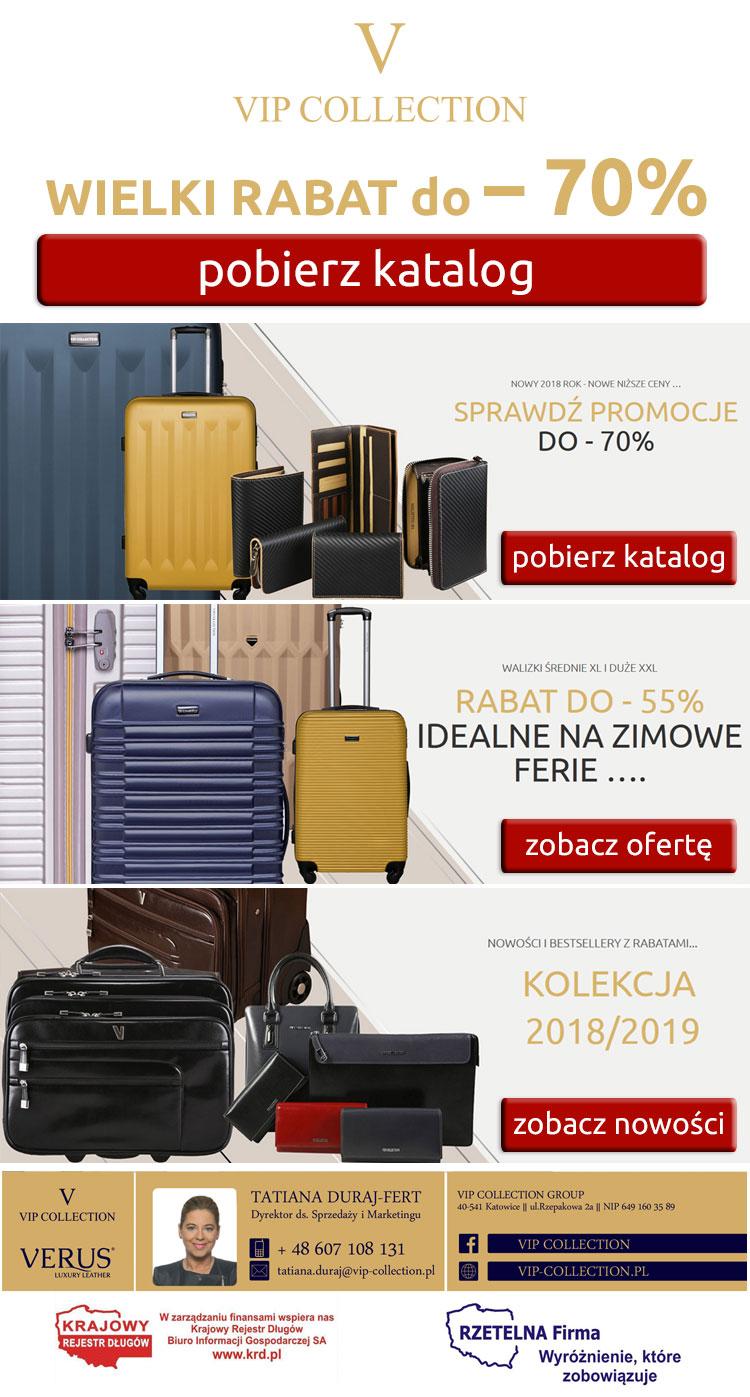 Rabat do -70% Vip Collection